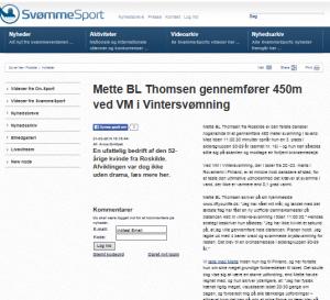 svoem.dk Mette BL Thomsen gennemfører 450 m