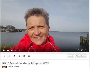Rekord stor dansk deltagelse til VM