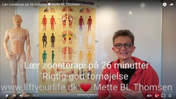 Lær zoneterapi på 26 minutter - Mette BL Thomsen