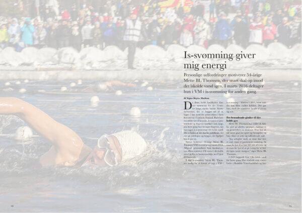 Artikel om Issvømning