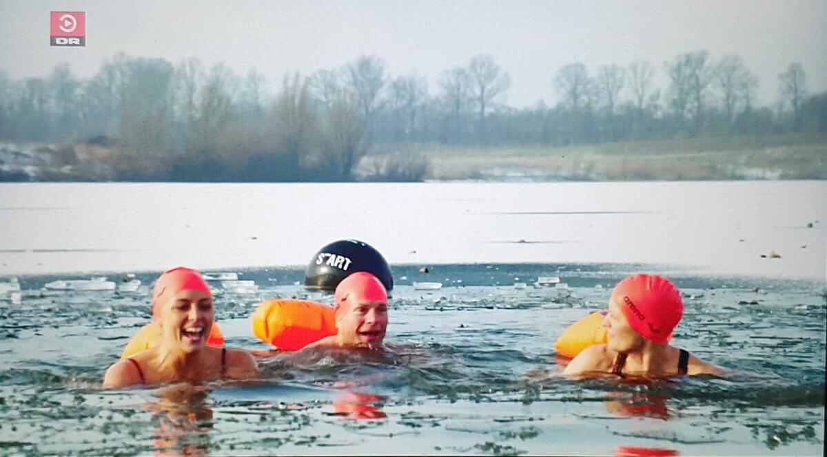 25 meter issvømning med coach Mette BL Thomsen