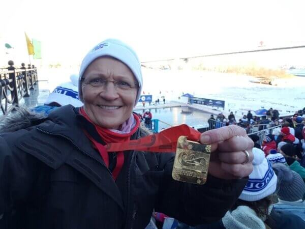 Medaljer til Mette BL Thomsen